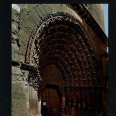 Postales: TUTERA - TUDELA. *CATEDRAL PUERTA DEL JUICIO* EDC. PARIS J.M. Nº 204. CIRCULADA TUDELA 1975. Lote 12188076