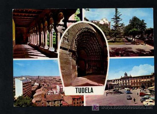 TUTERA - TUDELA. *TUDELA* EDC. PARIS J.M. Nº 300. CIRCULADA 1967 (Postales - España - Navarra Moderna (desde 1.940))