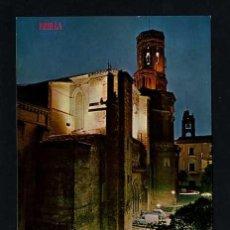 Postales: TUTERA - TUDELA. *CATEDRAL, NUEVA ILUMINACION...* EDC. PARIS J.M. Nº 459. NUEVA. Lote 12188207