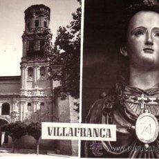 Postales: Nº 5351 POSTAL NAVARRA VILLAFRANCA PARROQUIA DE SANTA EUFEMIA. Lote 12273232