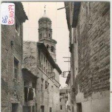 Postales: (PS-11079)POSTAL DE TUDELA-CALLE SERRALTA Y TORRE SAN NICOLAS. Lote 13154800