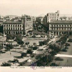 Postales: PAMPLONA – PLAZA DEL CASTILLO – MANIPOL RETRO. NO.142205 . Lote 25732495