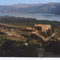 Postales: POSTAL LEYRE (NAVARRA) - VISTA GENERAL MONASTERIO Y PANTANO DE YESA - 1967. Lote 13940350