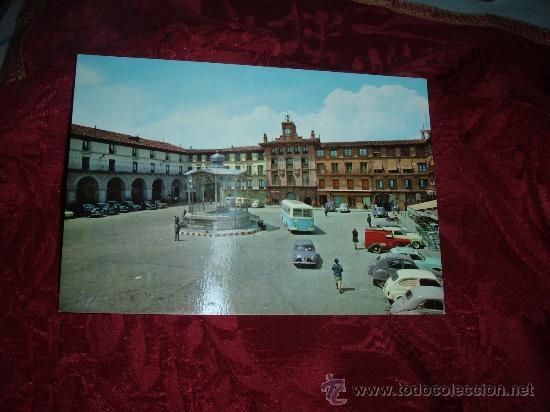 TUDELA PLAZA DE LOS FUEROS(KIOSCO),EDICIONES PARIS J M J -ZARAGOZA (Postales - España - Navarra Moderna (desde 1.940))