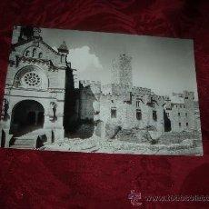 Postales: CASTILLO DE JAVIER FACHADA PRINCIPAL CASTILLO Y BASILICA,EDICIONES SICILIA. Lote 14013591