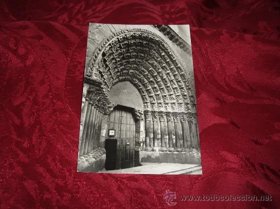 TUDELA CATEDRAL PUERTA DEL JUICIO,EDICIONES PARIS J M ZARAGOZA (Postales - España - Navarra Moderna (desde 1.940))