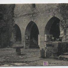 Postales: FUENTERRABÍA.PALACIO DE CARLOS V. HAUSE MENET 2035. Lote 14186433