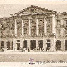 Postales: PAMPLONA- DIPUTACIÓN – L. ROISIN FOTÓGRAFO. Lote 25761351