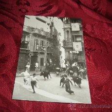 Postales: PAMPLONA ENCIERRO DE LOS TOROS,EDICIONES VAQUERO FOTO RUPEREZ. Lote 14726744