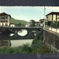 Postales: POSTAL DE ELIZONDO (NAVARRA): PUENTE DEL CUARTEL (ED.SICILIA NUNM.12). Lote 15506884