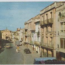 Postales: TARJETA POSTAL DE PERALTA CALLE IRURZUN NAVARRA. Lote 16545853