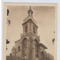Postales: TARJETA POSTAL DE VIANA TORRE DE LA IGLESIA DE SANTA MARIA NAVARRA. Lote 16546786