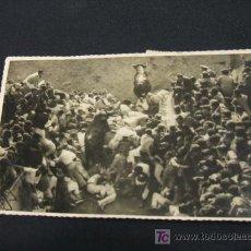 Postales: POSTAL-FOTOGRAFIA - PAMPLONA - MONTONERA EN PLAZA TOROS - . Lote 16923629