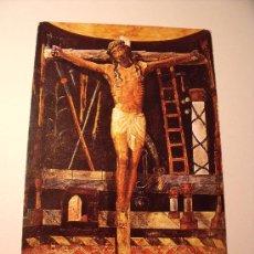 Postales: POSTAL DEL CASTILLO DE XAVIER, CRISTO DE XAVIER. SIN CIRCULAR. Nº 36 P-1457. Lote 17446886