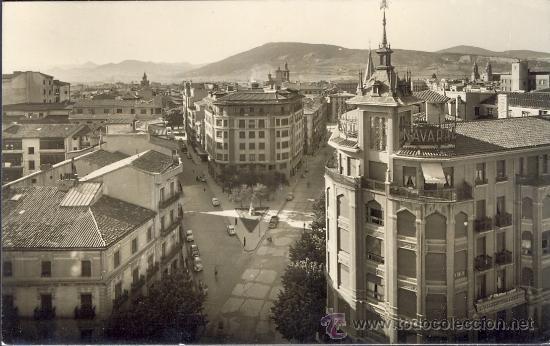 TARJETA POSTAL DE PAMPLONA VISTA PARCIAL NAVARRA (Postales - España - Navarra Moderna (desde 1.940))