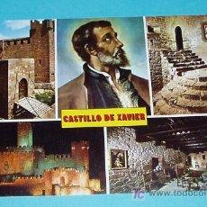 Postales: POSTAL VISTAS GENERALES DEL CASTILLO DE XAVIER. NAVARRA. Lote 18736232