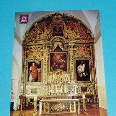 Postales: POSTAL RETABLO PARROQUIA DE XAVIER. CASTILLO DE XAVIER. NAVARRA. Lote 18736254