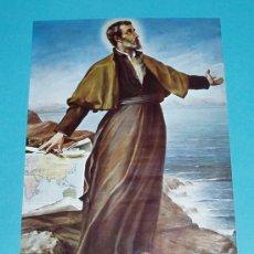 Postales: POSTAL SAN FRANCISCO XAVIER. CASTILLO DE XAVIER. NAVARRA. Lote 18736288