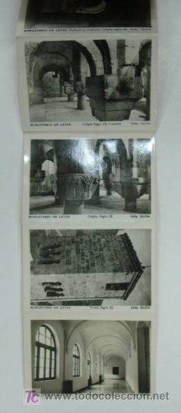 Postales: MONASTERIO DE LEYRE. CUNA DE NAVARRA Y PANTEON DE REYES. 10 VISTAS FORMATO PEQUEÑO. - Foto 4 - 18820239
