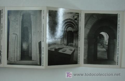 Postales: MONASTERIO DE LEYRE. CUNA DE NAVARRA Y PANTEON DE REYES. 10 VISTAS FORMATO PEQUEÑO. - Foto 3 - 18820239