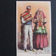 Postales: POSTAL DE TRAJES TIPICOS ESPAÑOLES DE NAVARRA,LAIETANA-TUSER.. Lote 24530005