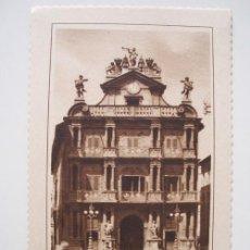 Postales: ANTIGUA POSTAL : PAMPLONA - CASA MUNICIPAL. ED GARCÍA GARRABELLA 28. Lote 19079958
