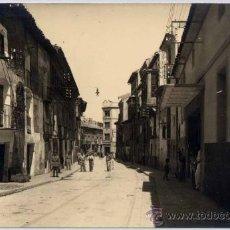 Postales: FOTOGRAFÍA DE CINTRUÉNIGO(NAVARRA).- CALLE LIGUÉS. Lote 19115145