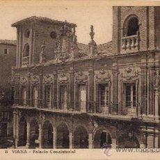 Postales: VIANA(NAVARRA).-PALACIO CONSISTORIAL. Lote 19115760