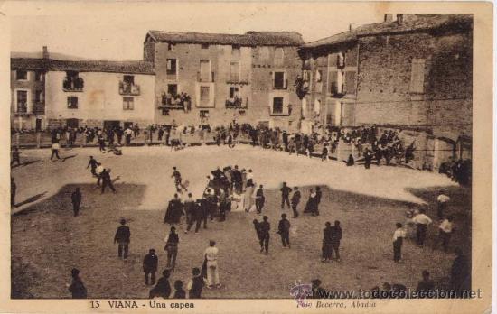 VIANA(NAVARRA).-UNA CAPEA (Postales - España - Navarra Moderna (desde 1.940))