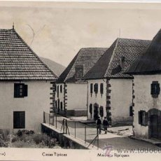 Postales: BURGUETE (NAVARRA).- CASAS TÍPICAS. Lote 19152404