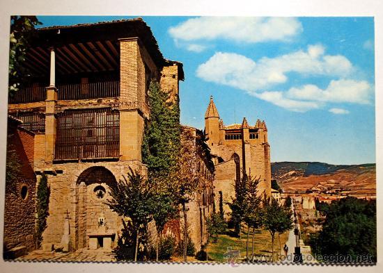 NAVARRA. PAMPLONA. CATEDRAL. (Postales - España - Navarra Moderna (desde 1.940))