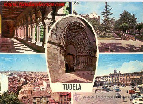 TUDELA. EDICIONES PARÍS. (Postales - España - Navarra Moderna (desde 1.940))