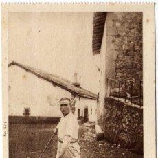 Postales: MAGNIFICA POSTAL - HUICI (NAVARRA) - UN PALANKARI. Lote 19811382