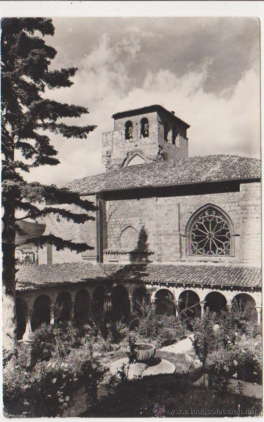 ESTELLA PARROQUIA DE SAN PEDRO,ED IMPRENTA GARBAYO (Postales - España - Navarra Moderna (desde 1.940))
