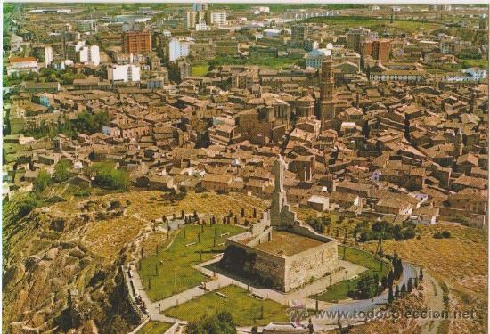 TUDELA VISTA AEREA,EDICIONES PARIS J M (Postales - España - Navarra Moderna (desde 1.940))
