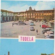 Postales: TUDELA ,EDICIONES PARIS J M 1965. Lote 20728987