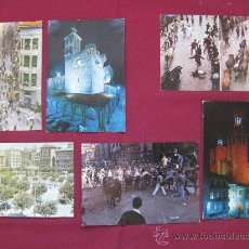 Postales: PAMPLONA - 6 POSTALES AÑOS 60.... Lote 21121139