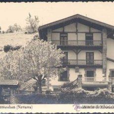 Cartes Postales: SANTESTEBAN (NAVARRA).- RESIDENCIA DE EDUCACIÓN Y DESCANSO. Lote 21259341
