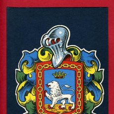 Cartes Postales: POSTAL PAMPLONA, ESCUDO , COLECCION HERALDICA BLASONES DE ESPAÑA, LITOGRAFIA, E35. Lote 21920758