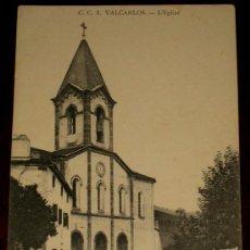 Postales: ANTIGUA POSTAL DE VALCARLOS - NAVARRA - LA IGLESIA - C.C. 3 - NO CIRCULADA.. Lote 24537888