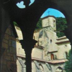 Postales: MONASTERIO DE IRANZU NAVARRA POSTAL AÑOS 60. Lote 24648910