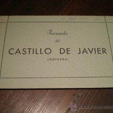 Postales: ANTIGUO DESPLEGABLE DE JAVIER - NAVARRA. Lote 26576120
