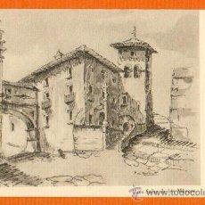 Postales: CASA DE LOS MENCOS TAFALLA - NAVARRA - P. DE MONTAGUT TARJETA TAMAÑO POSTAL. Lote 27113397