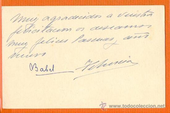 Postales: CASA DE LOS MENCOS TAFALLA - NAVARRA - P. DE MONTAGUT TARJETA TAMAÑO POSTAL - Foto 2 - 27113397
