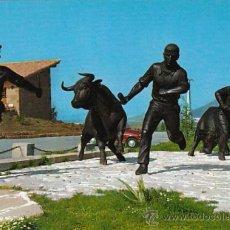 Berrioplano, Hostal del toro, monumento al encierro