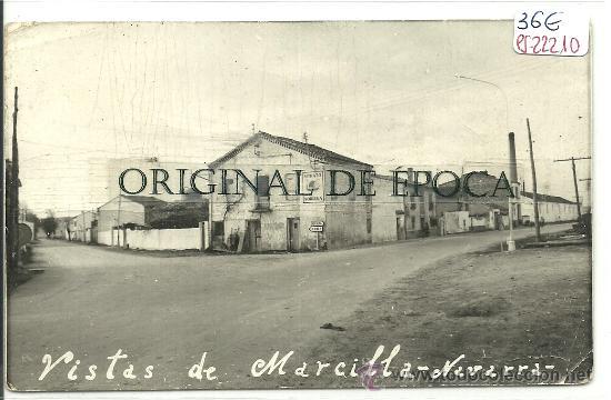 (PS-22210)POSTAL DE MARCILLA(NAVARRA)-VISTA (Postales - España - Navarra Moderna (desde 1.940))