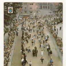 Postales: POSTAL AÑOS 60 // PAMPLONA // ENCIERRO . Lote 26690838