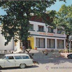 Postales: POSTAL: ALSASUA (NAVARRA).RESTAURANTE-HOSTERÍA LEKU-ONA. Lote 26870836