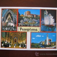 Postales: PAMPLONA, NAVARRA. ED. POSTALES VAQUERO. AÑOS 60. Lote 27102246