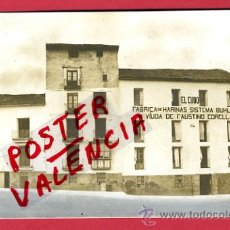 Postales: TUDELA , FABRICA HARINAS , EL CUBO , VER REVERSO, FOTOGRAFICA ,ORIGINAL ,P64100. Lote 27335963